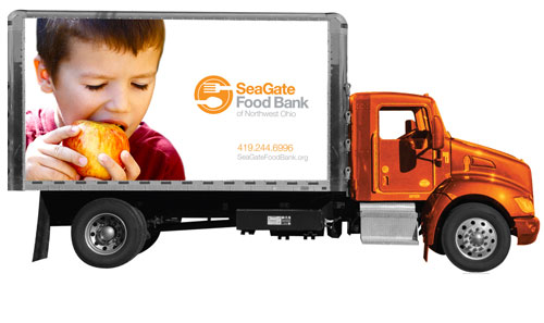Truck Distribution Food Hunger