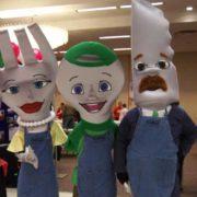 Banks Family Mascots