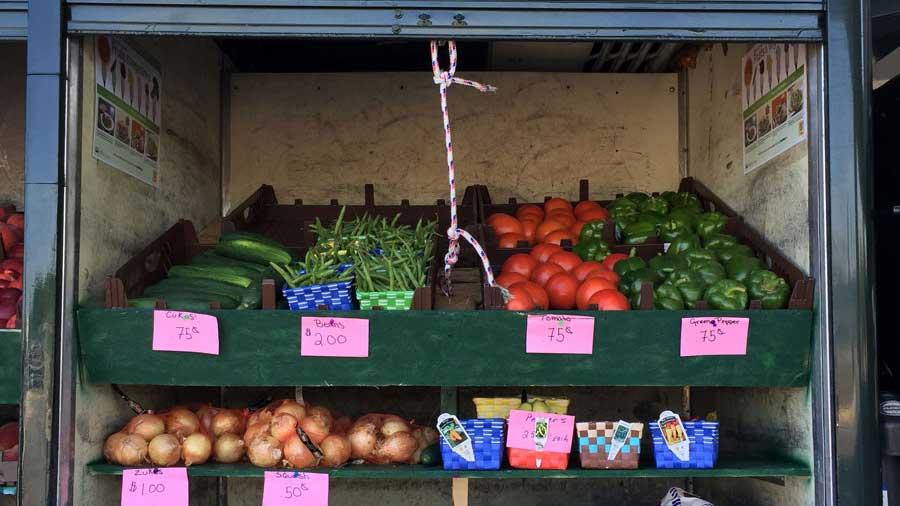 mobile Farm Food market
