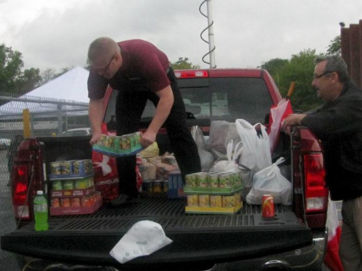 toledo food bank truck