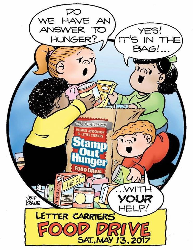 Letter Carrier Food Drive 2017