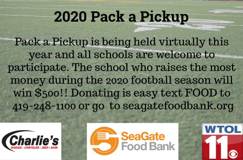 TOUCHDOWN!! It's Football Friday; and donating to Pack a Pickup is a little different...