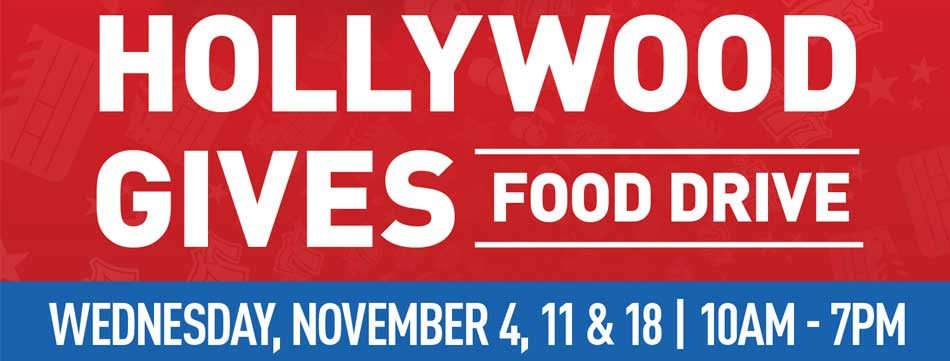 Hollywood Gives Food Drive