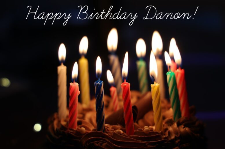 Happy Birthday Danon!  Danon joined th