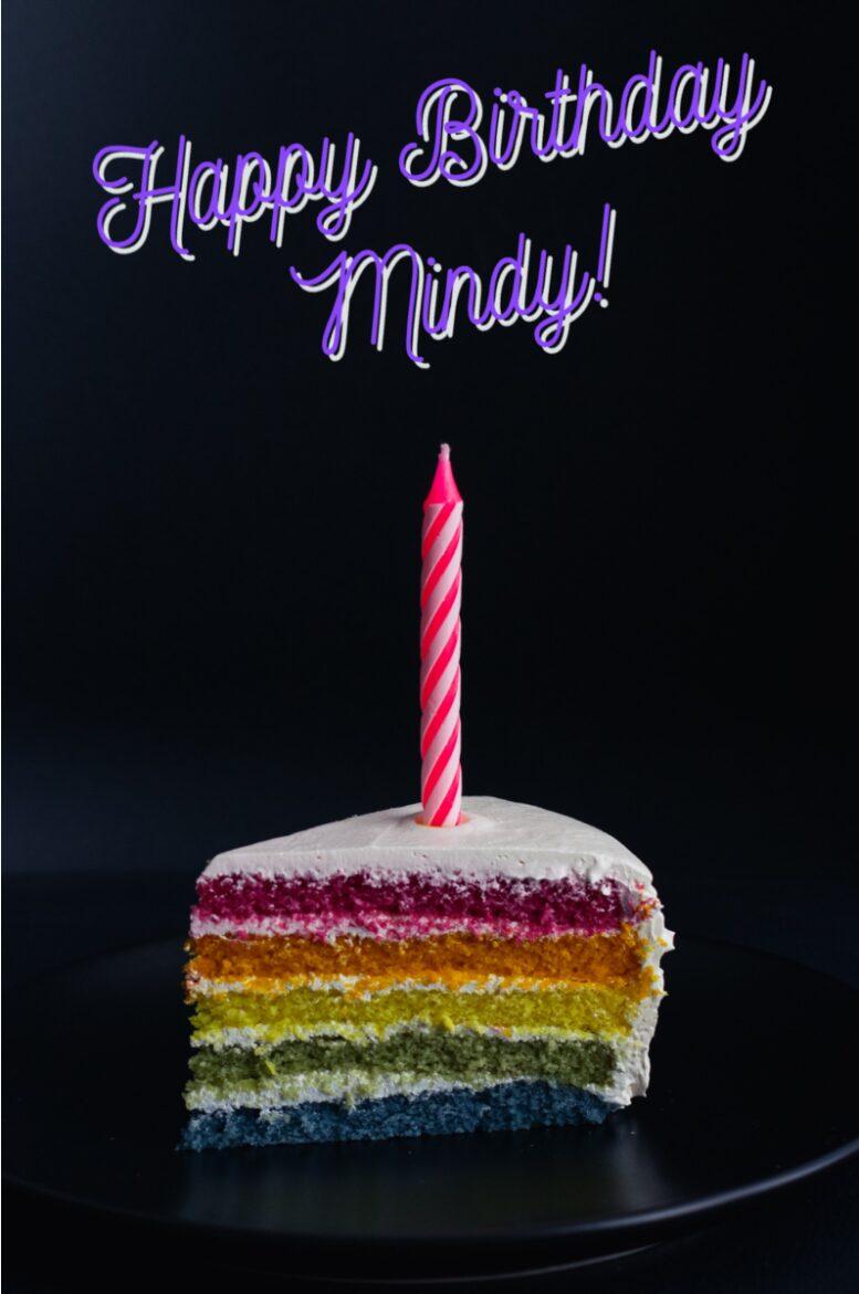 Happy Birthday Mindy!