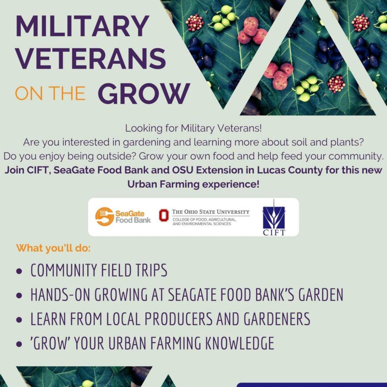 This is a great opportunity for veterans interested in learning how to grow their own frui...